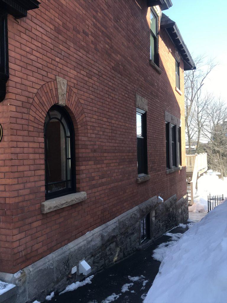 Restauration du parement de maçonnerie